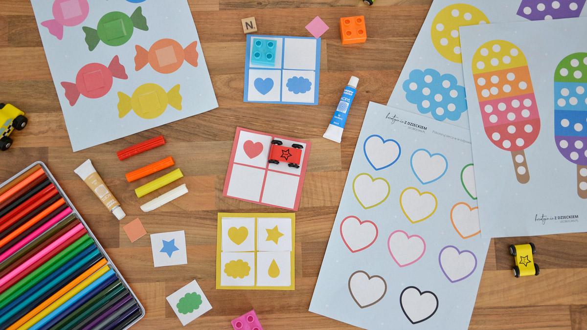 Nauka kolorów dla dzieci