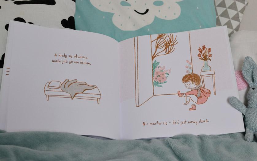 Kiedy nadchodzi smutek - zdjęcia książki