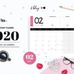 Planer luty 2020 - do druku za darmo