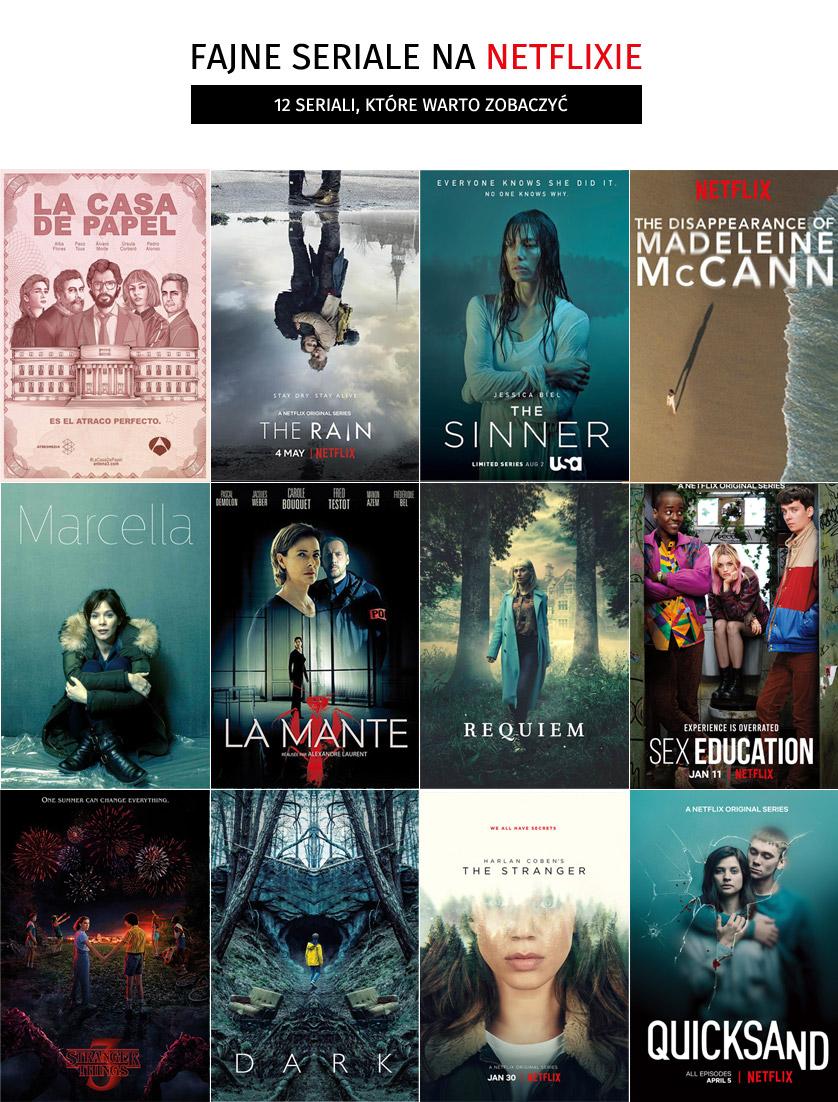 Fajne seriale na Netflixie - 12 seriali, które warto zobaczyć