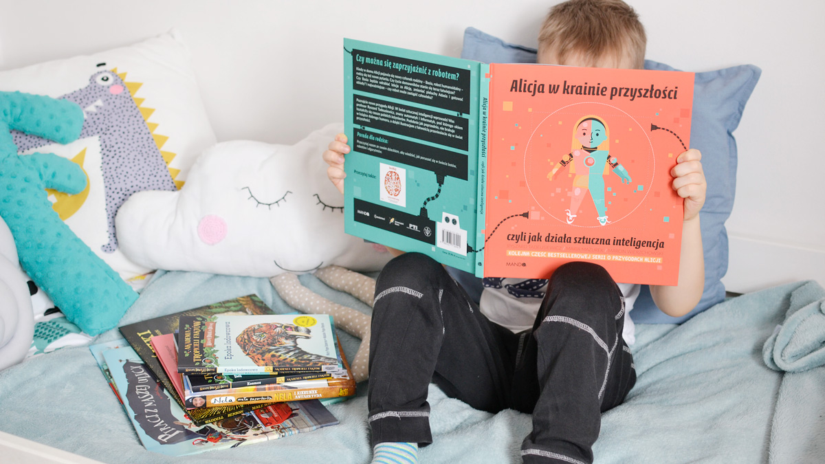 Książki dla pięciolatka - co teraz czyta mój pięciolatek