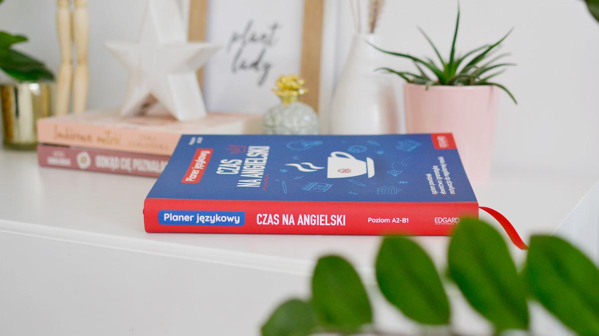 Planer językowy czas na angielski - recenzja, zdjęcia