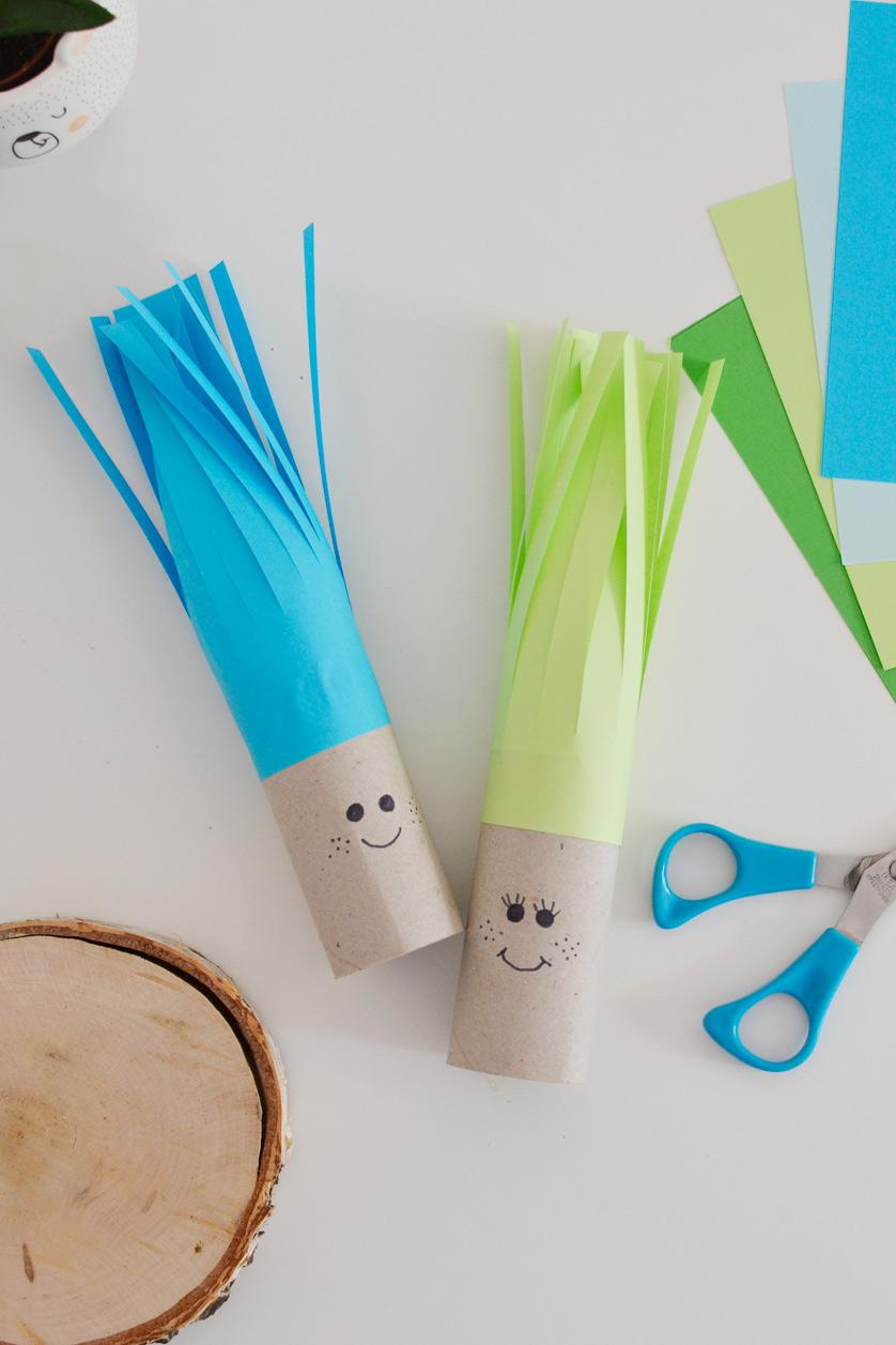 Zabawy z rolek po papierze