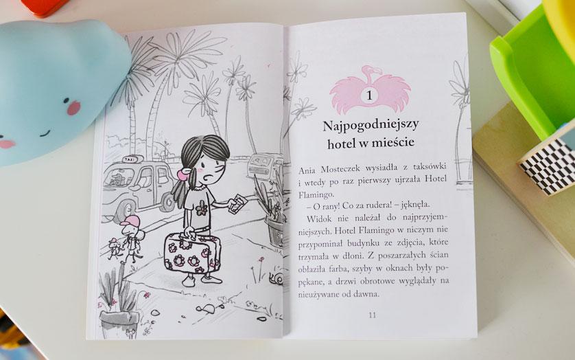 Hotel Flamingo - recenzja i zdjęcia książki dla dzieci