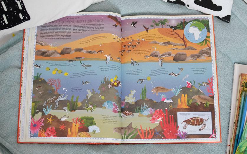 Atlas Przygód Zwierząt  - zdjęcia książki