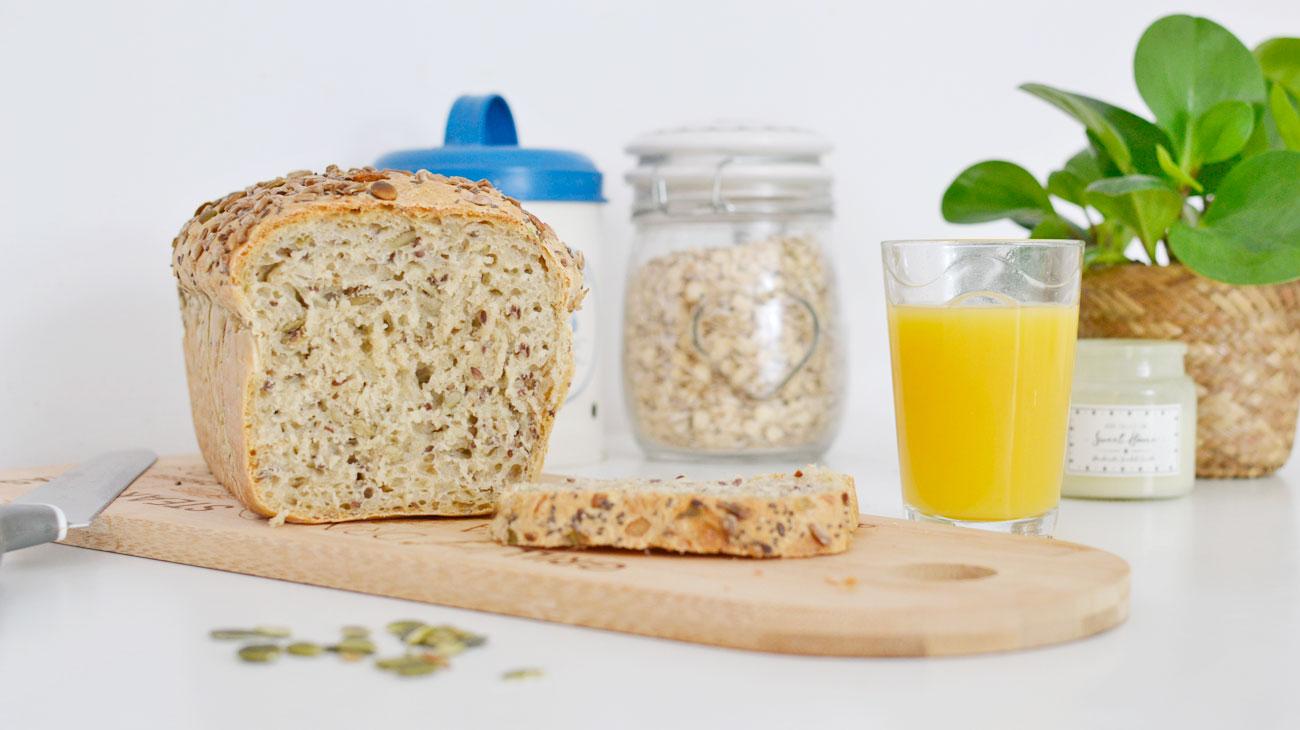 Chleb z ziarnami na drożdżach - najlepszy przepis