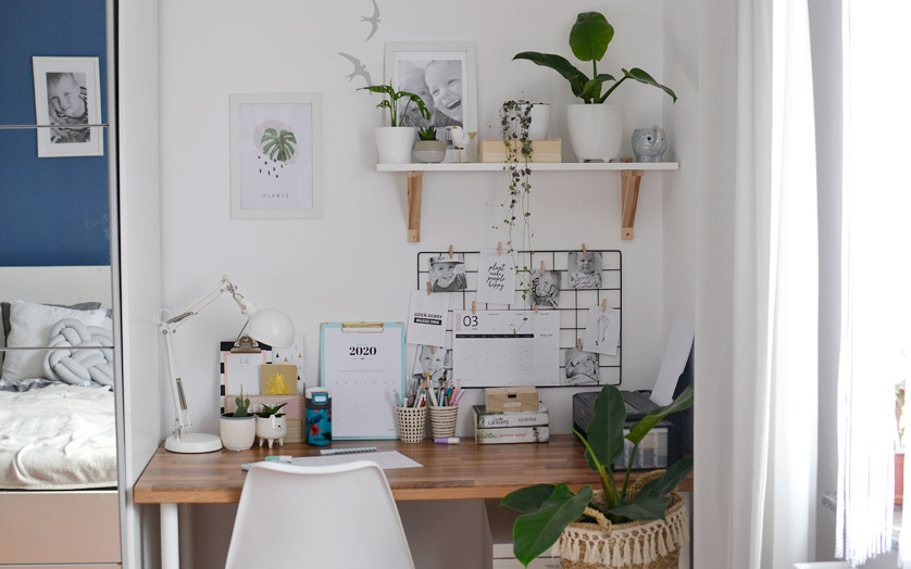 Domowe biuro - inspiracje