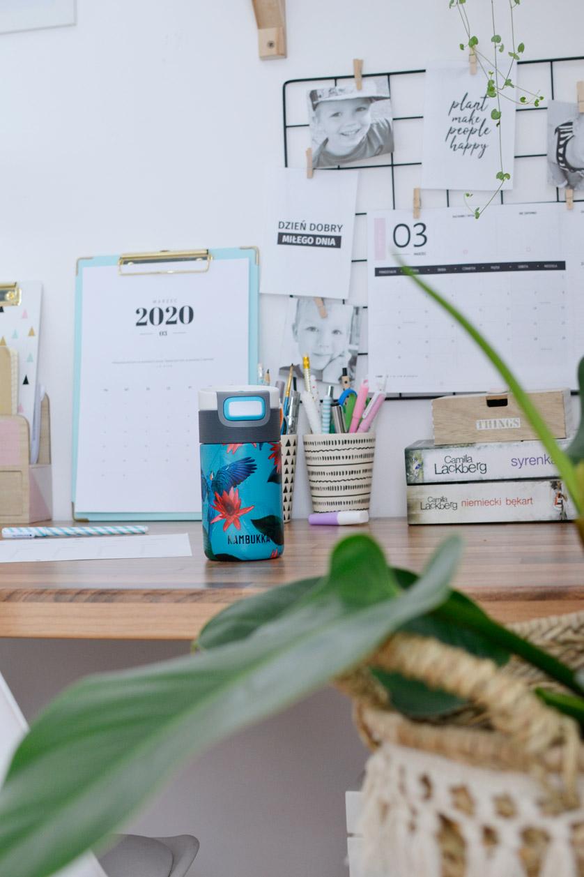 Moje biurko, czyli miejsce do pracy w domu