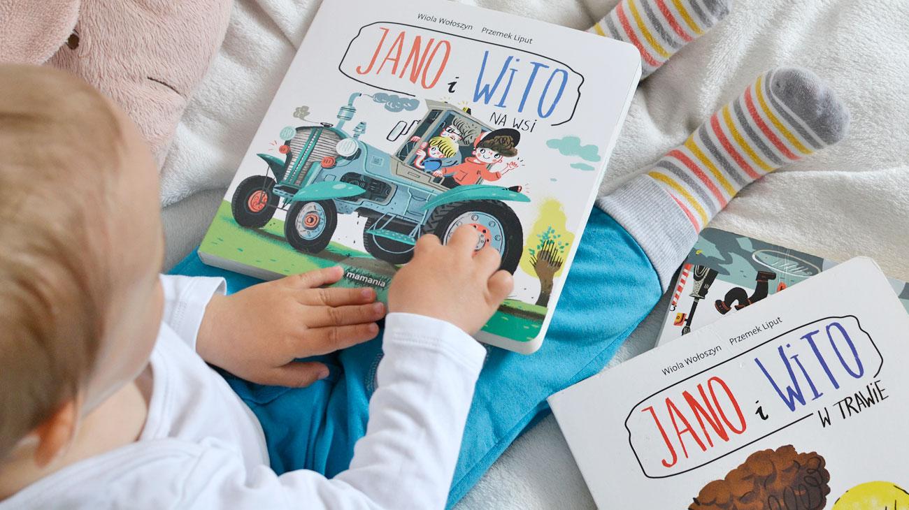 Jano i Wito Na wsi - recenzja książki