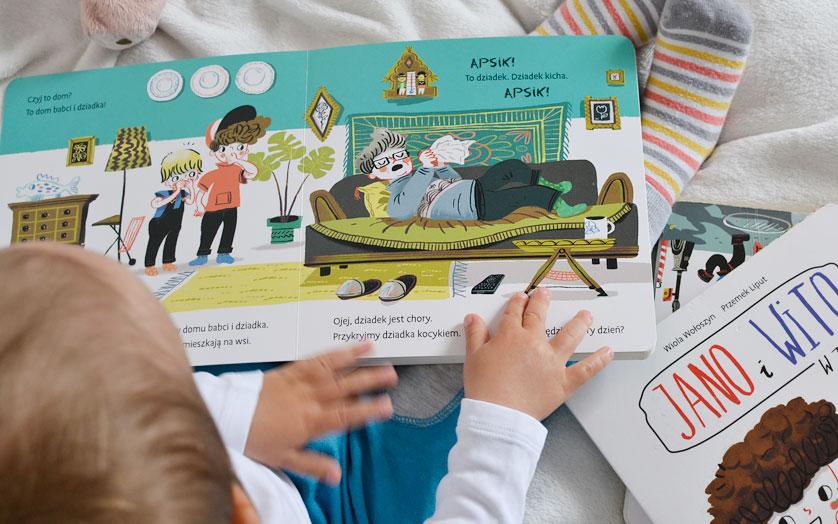 Jano i Wito Na wspi - recenzja i zdjęcia książki dla dzieci