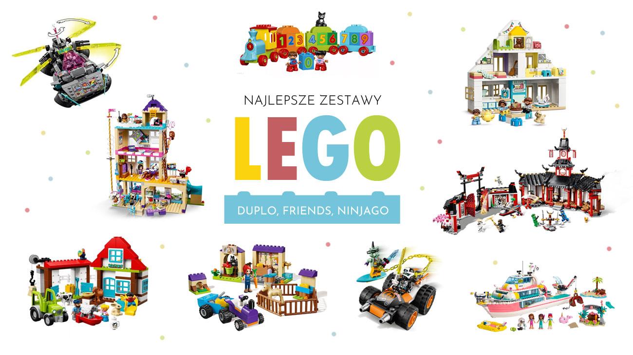 Jakie klocki Lego wybrać dla malucha, chłopca i dziewczynki?