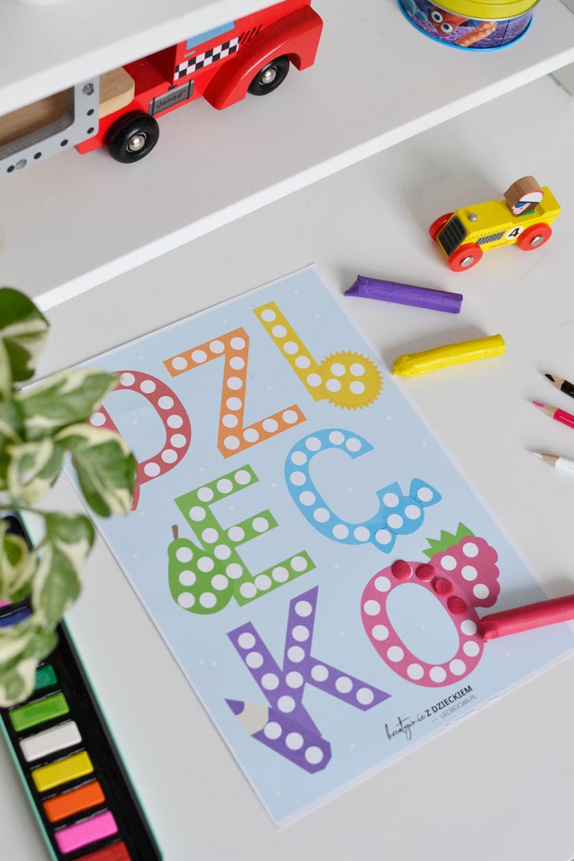 Karty pracy Dzień dziecka do druku