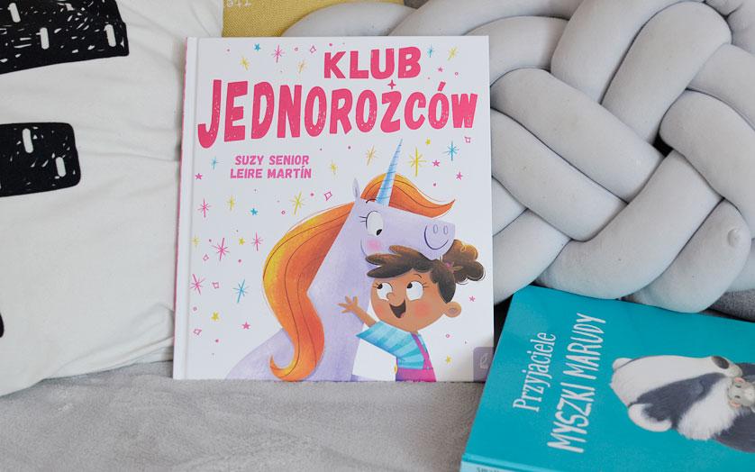 Klub jednorożców - recenzja i zdjęcia książki