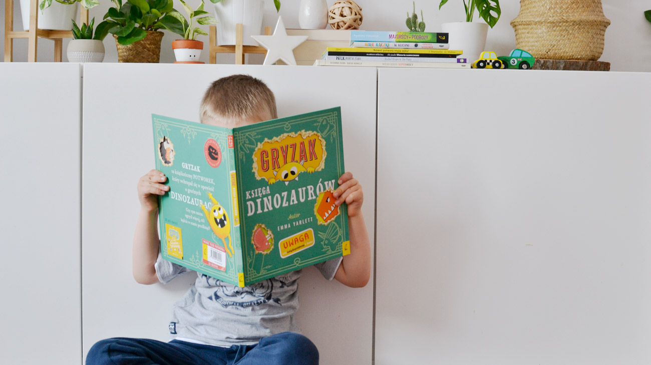 Książkowe dla przedszkolaka, czyli co czyta mój pięciolatek