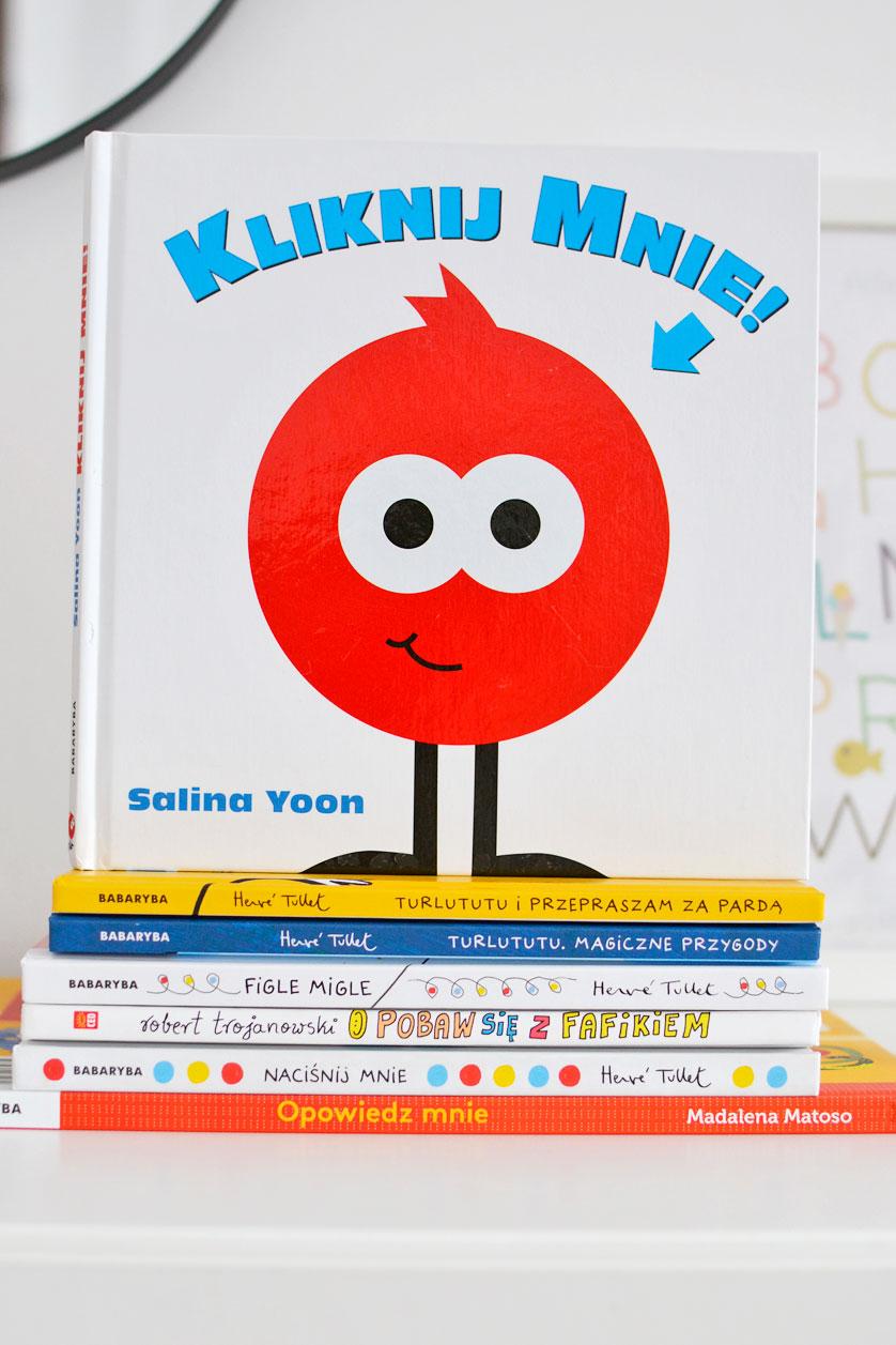 Książki do aktywnego czytania dla dzieci