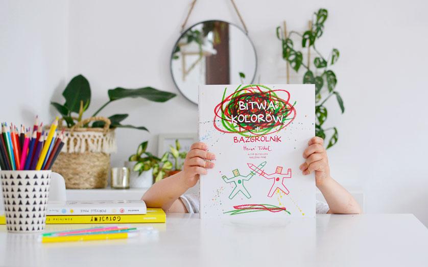 Książki do bazgrania i rysowania