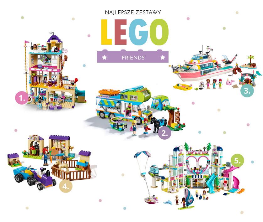 Fajne zestawy Lego Friends