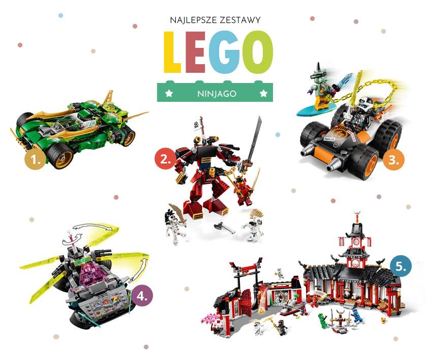 Fajne zestawy Lego Ninjago