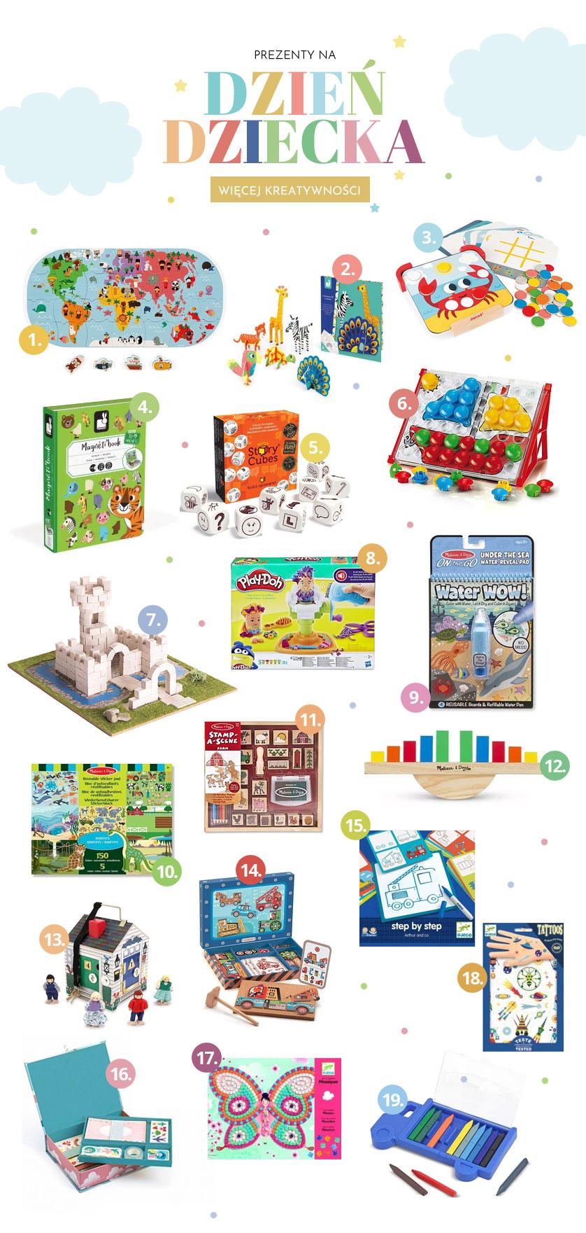 Prezent na Dzień dziecka - Więcej kreatywności