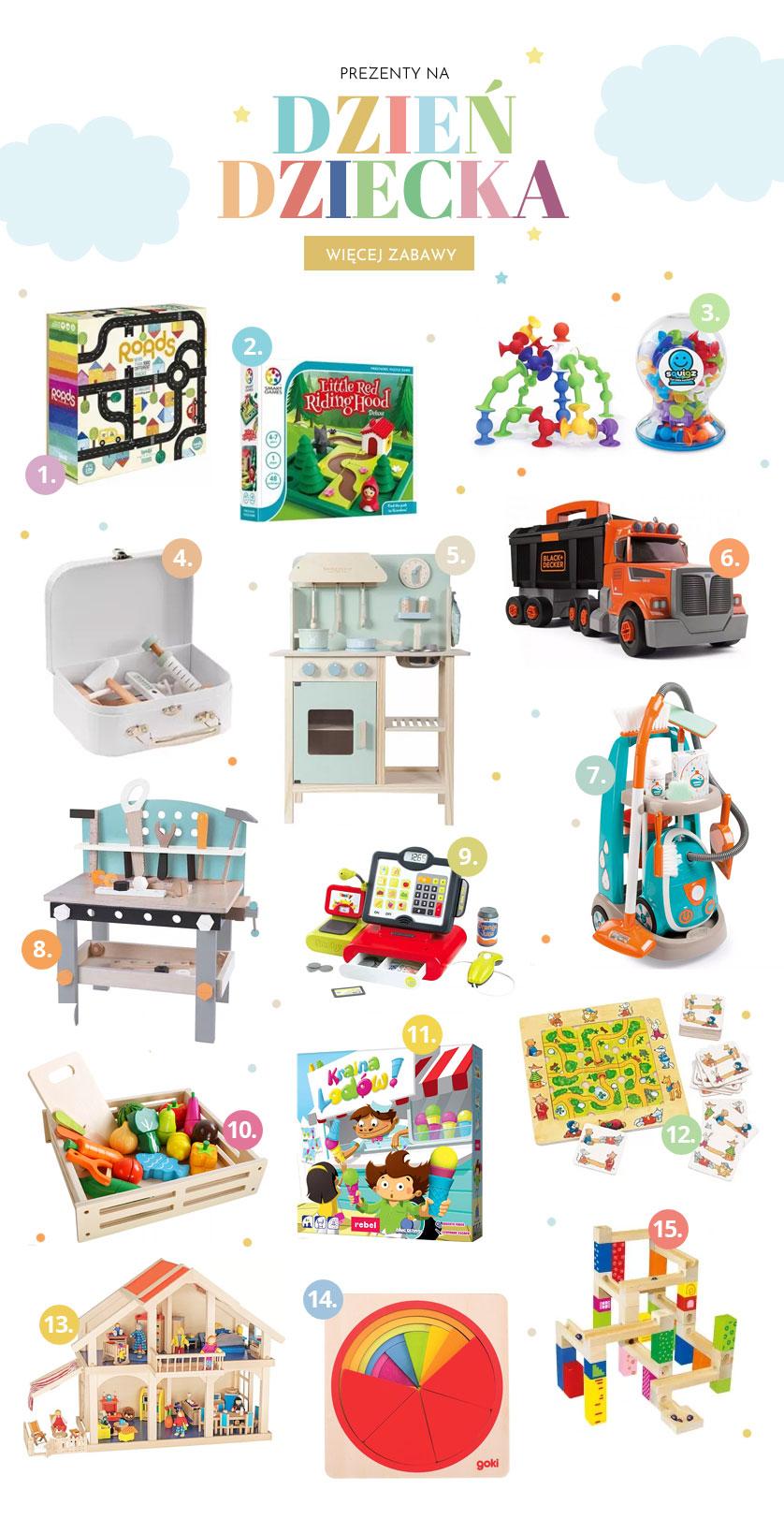 Prezent na Dzień dziecka - Zabawki