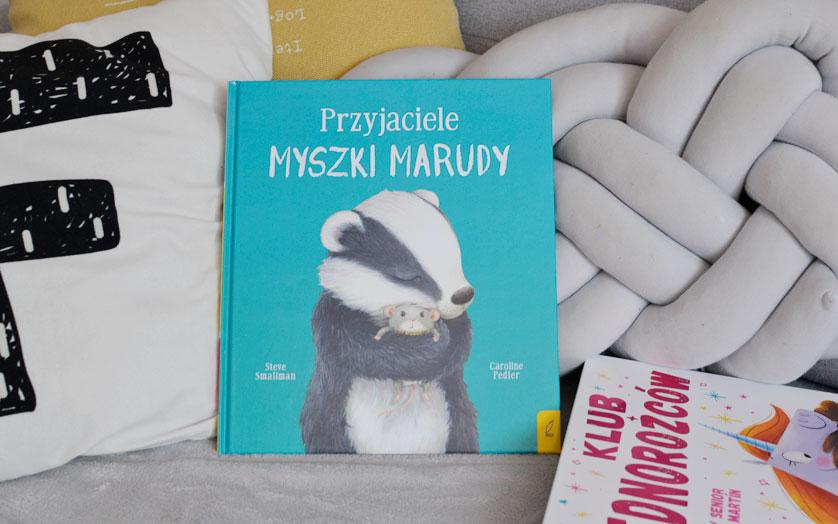 Przyjaciele Myszki Marudy - recenzja i zdjęcia książki