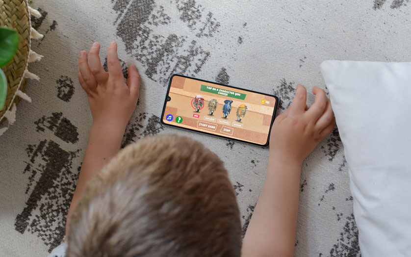 Eko gra dla dzieci