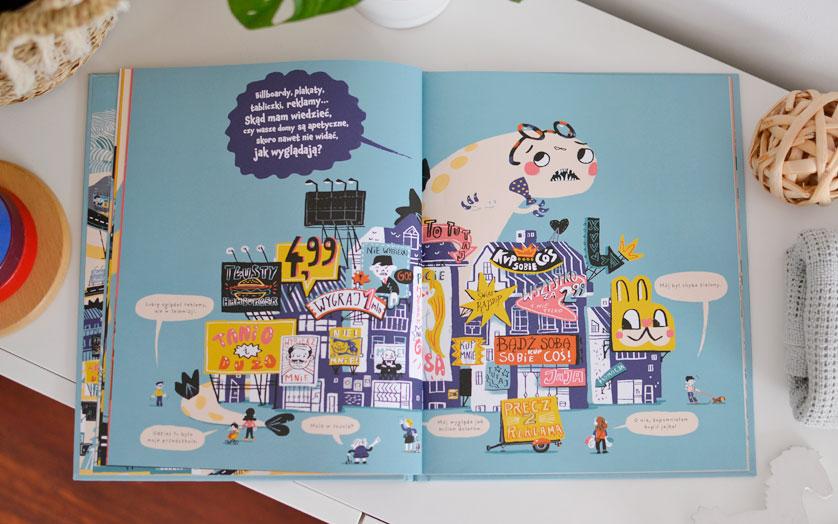 Miasto potwór - Recenzja, zdjęcia książki dla dzieci