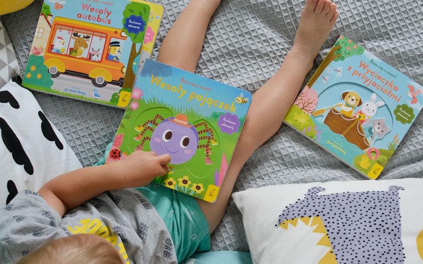 Kartonowe książki dla malucha!
