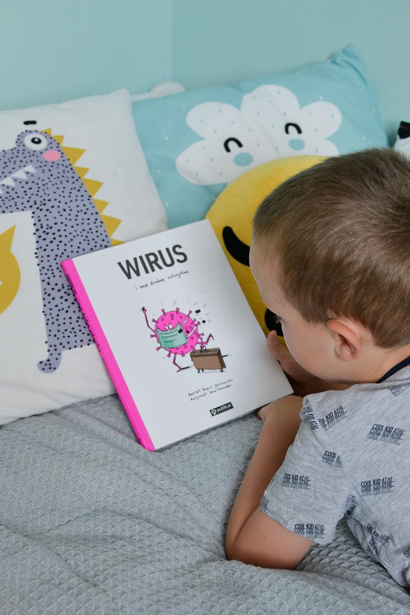 Wirus i inne drobne ustrojstwa - książka dla dzieci o epidemii
