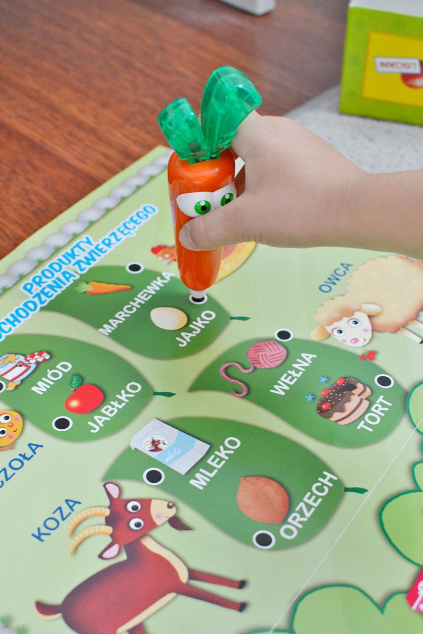 Carotina 50 gier z mówiącą marchewką