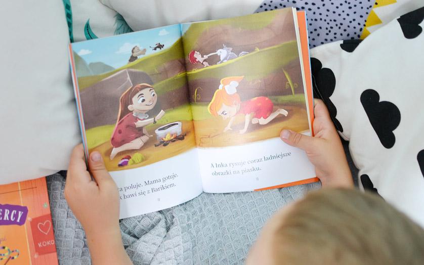 Inkę ze Srebrnej Groty - recenzja, zdjęcia książki