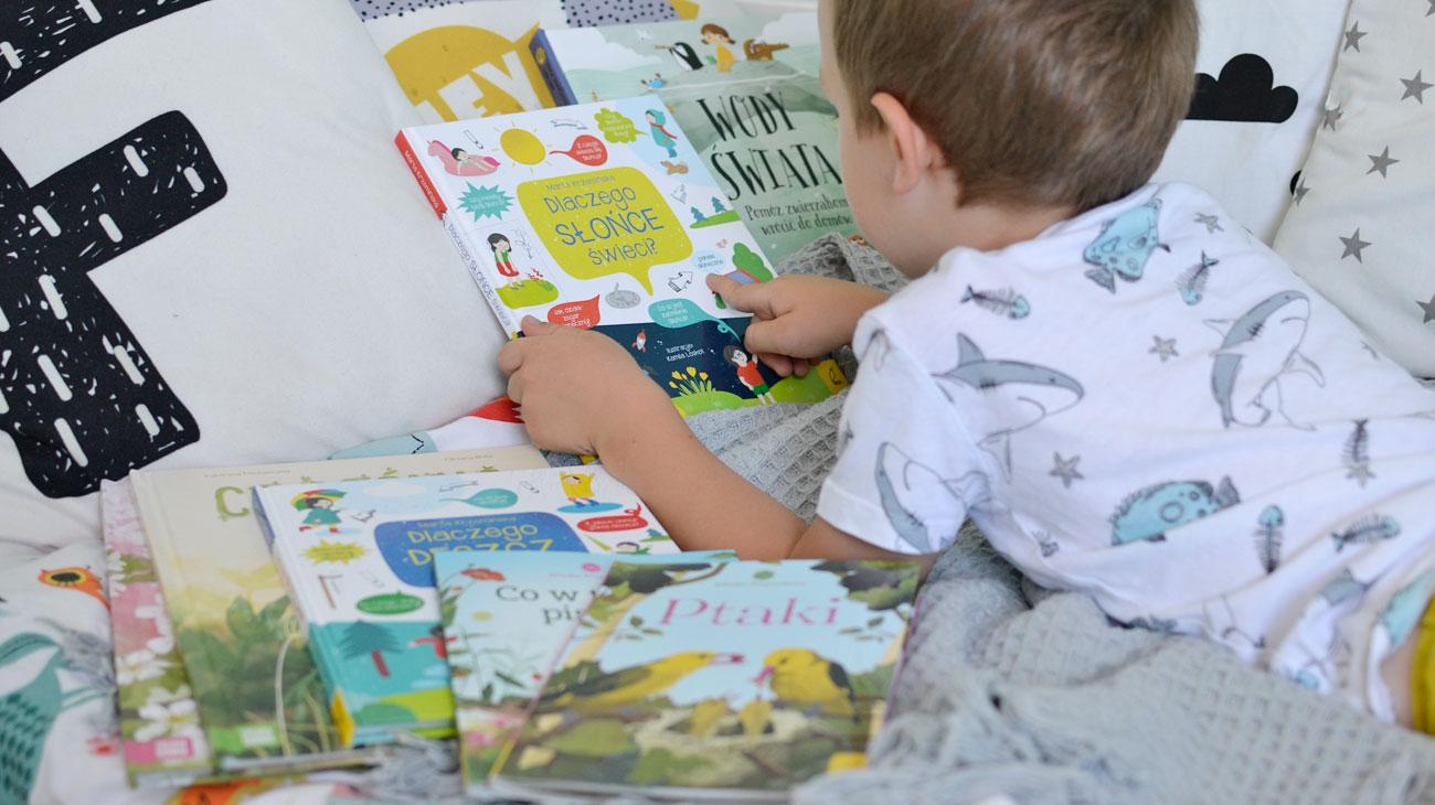 Niezwykłe książki o przyrodzie dla malucha i starszaka