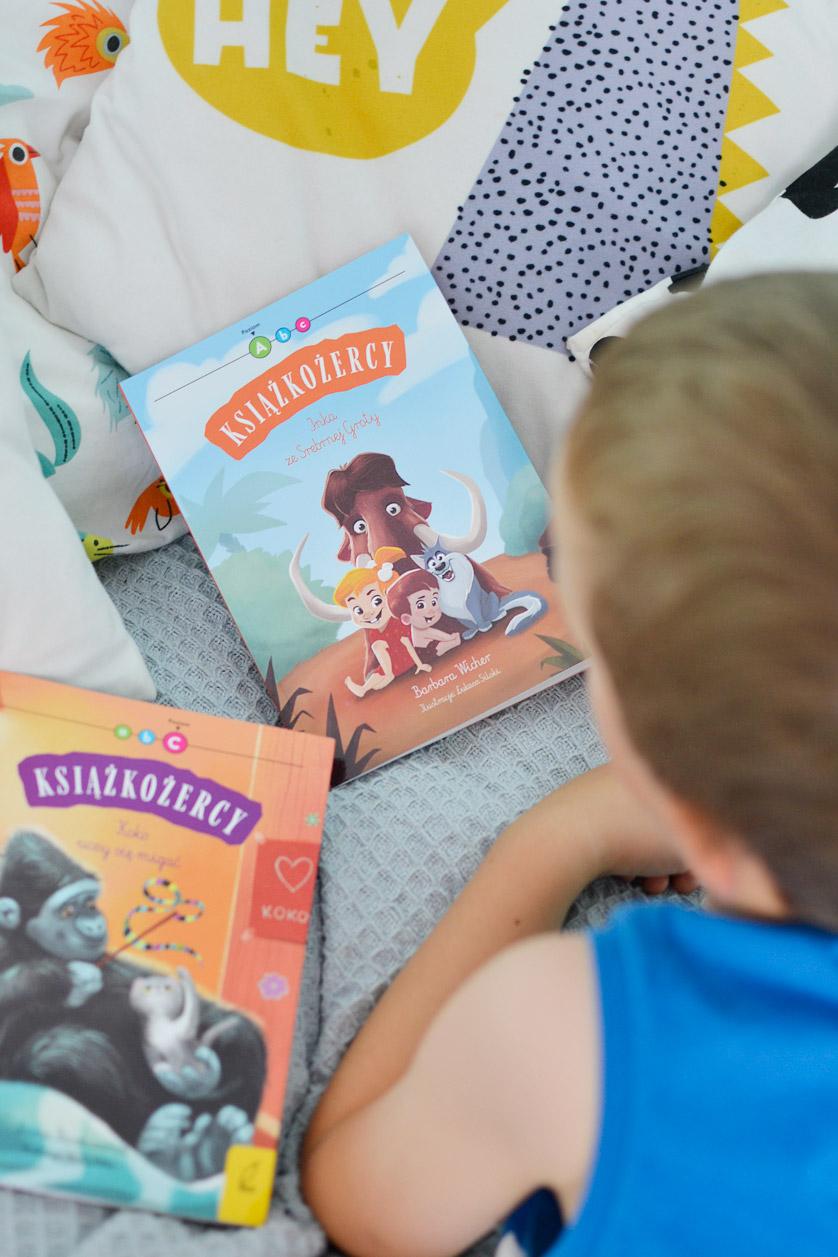 Książkożercy - książki do nauki czytania