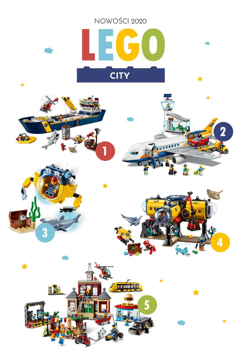 Nowości 2020 Lego City