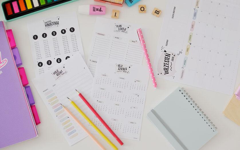Zorganizuj naukę w domu i szkole!