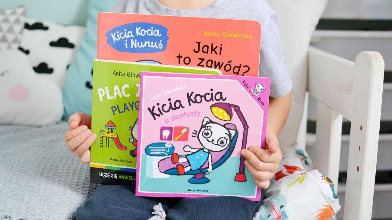 Kicia Kocia - nowości w ulubionej dziecięcej serii