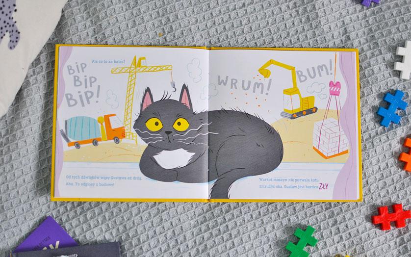 Kot Gustaw nie może spać - recenzja