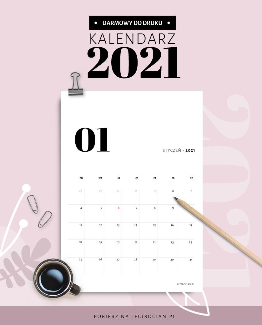 Pobierz darmowy kalendarz 2021