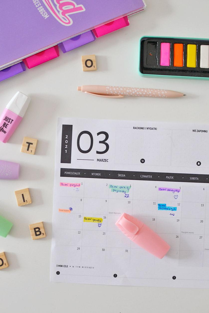 Kalendarz Świąt nietypowych w przedszkolu