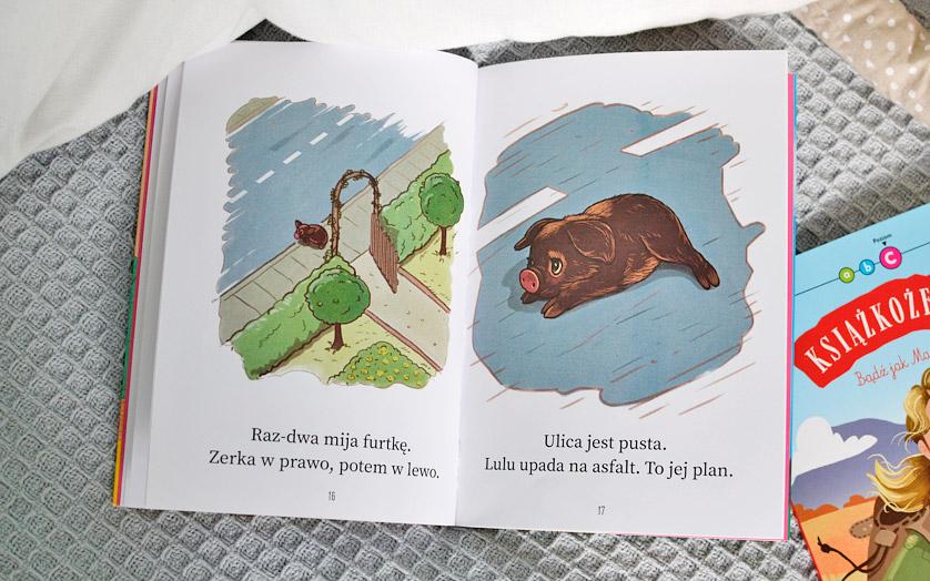 Książkożercy - Lulu świnka na medal