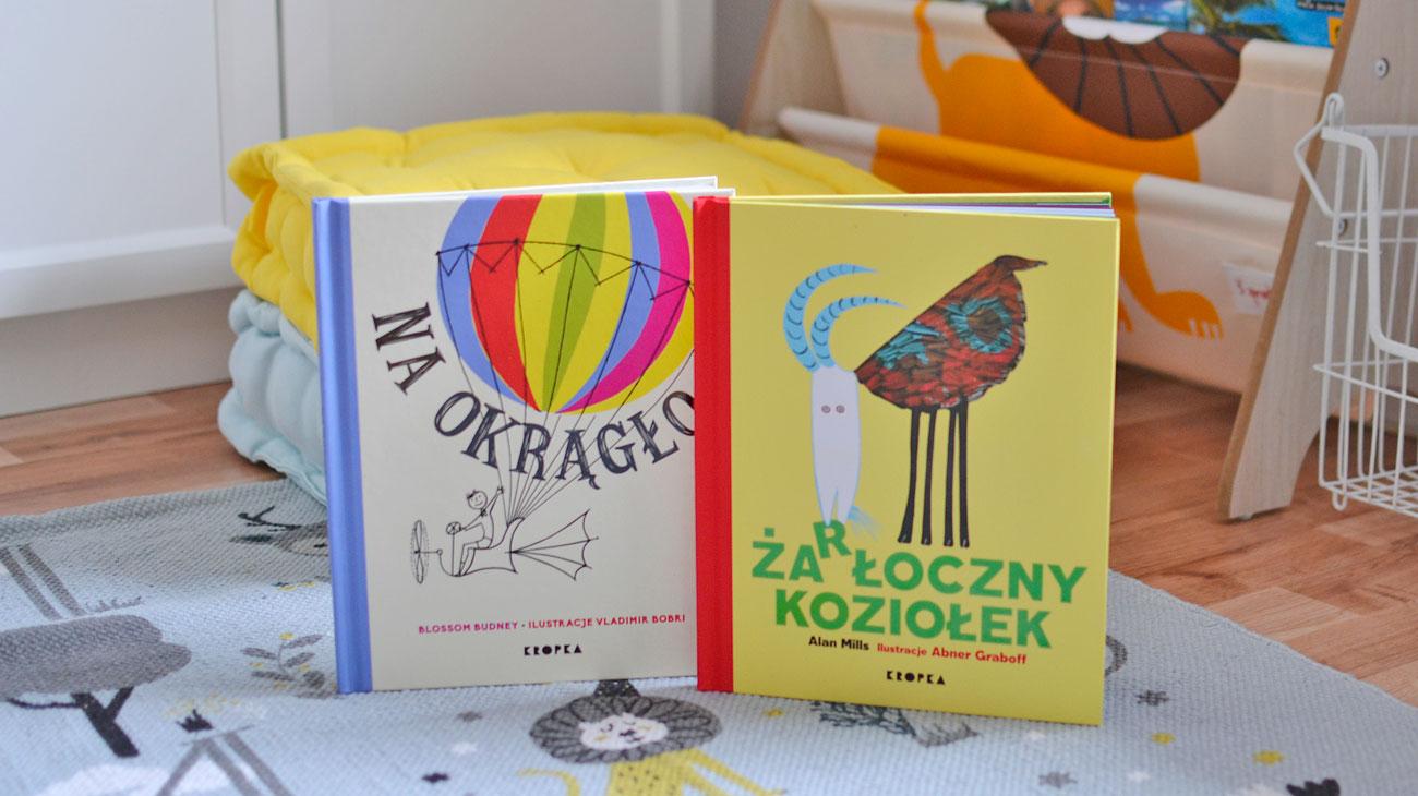 Rymowane książki dla dzieci - 2 nowości wydawnictwa Kropka