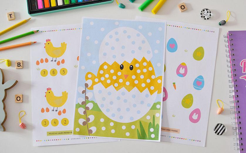 Wielkanocne karty pracy do wydrukowania