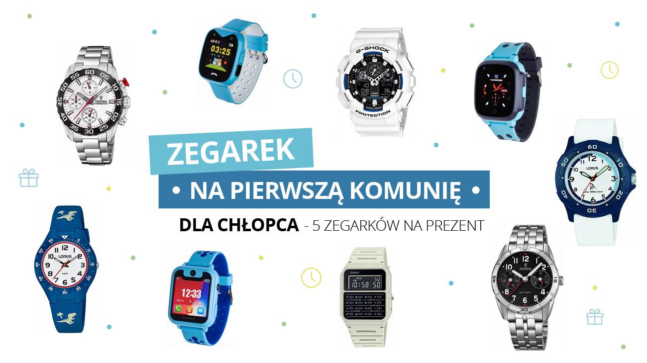 Zegarek na pierwszą komunię dla chłopca – 5 zegarków na prezent