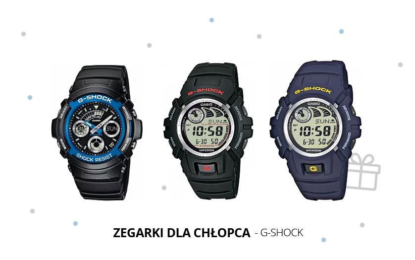 Niezawodny zegarek nie tylko na komunię – G-SHOCK