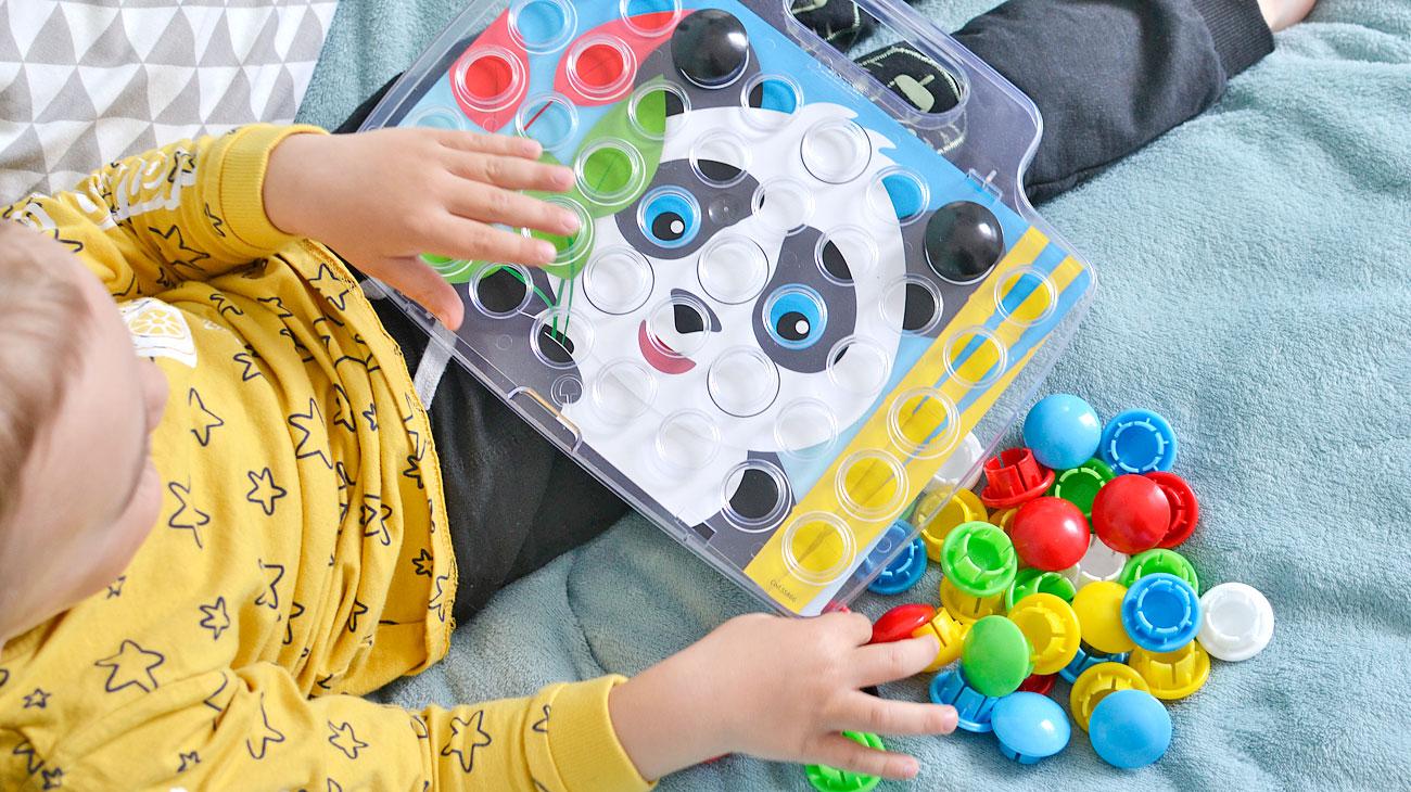 Mozaika Pixel Junior - kreatywna układanka dla dzieci