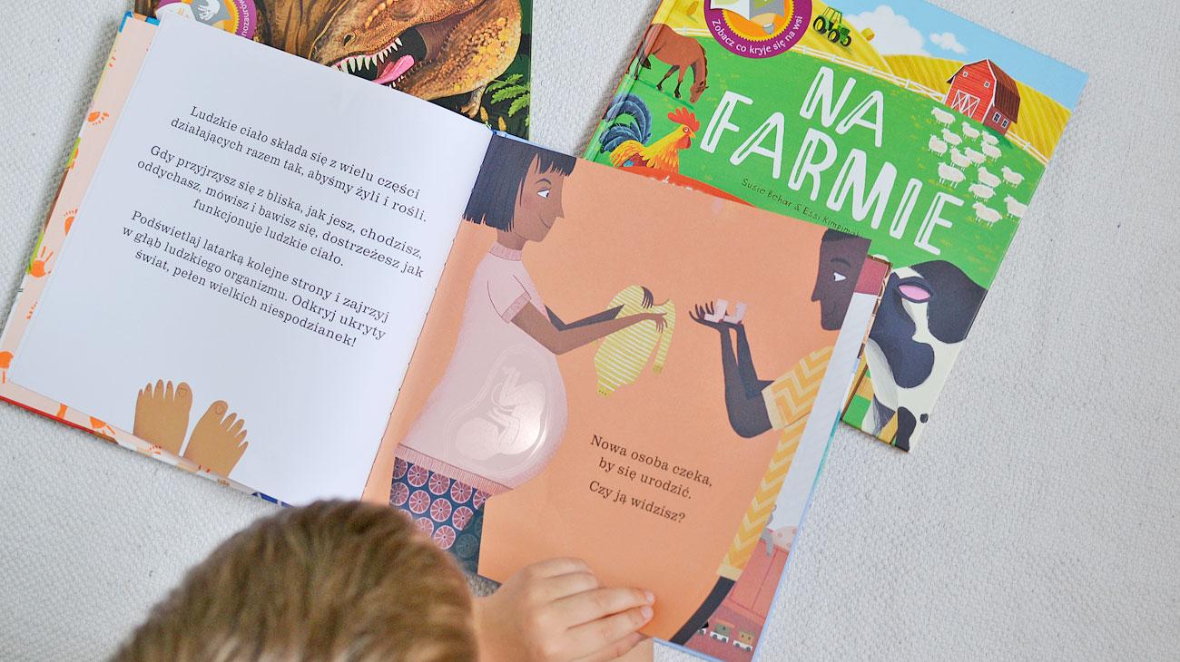 Podświetl i odkryj - książki do czytania i zabawy z latarką